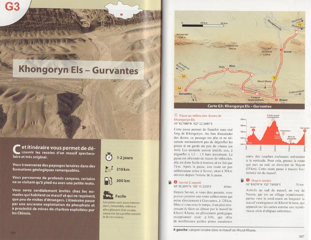 Page Guide Mongolie